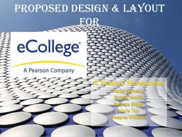 Proposed Design & Layout for