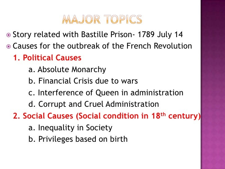 role of philosophers in the french revolution of 1789 The french revolution dates back to 1789 the french people changed their form of government during 1789 revolution these people were determined to eliminate the excess privilege that was associated with the royal family.