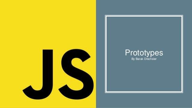 Prototypes By Barak Drechsler