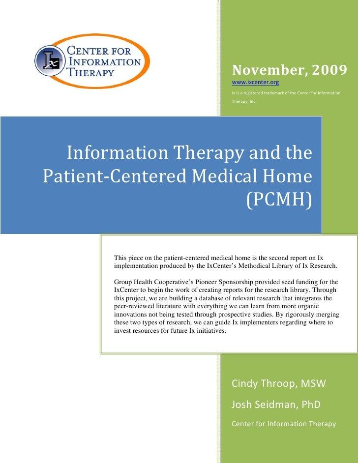 November,2009                                                      www.ixcenter.org                                  ...