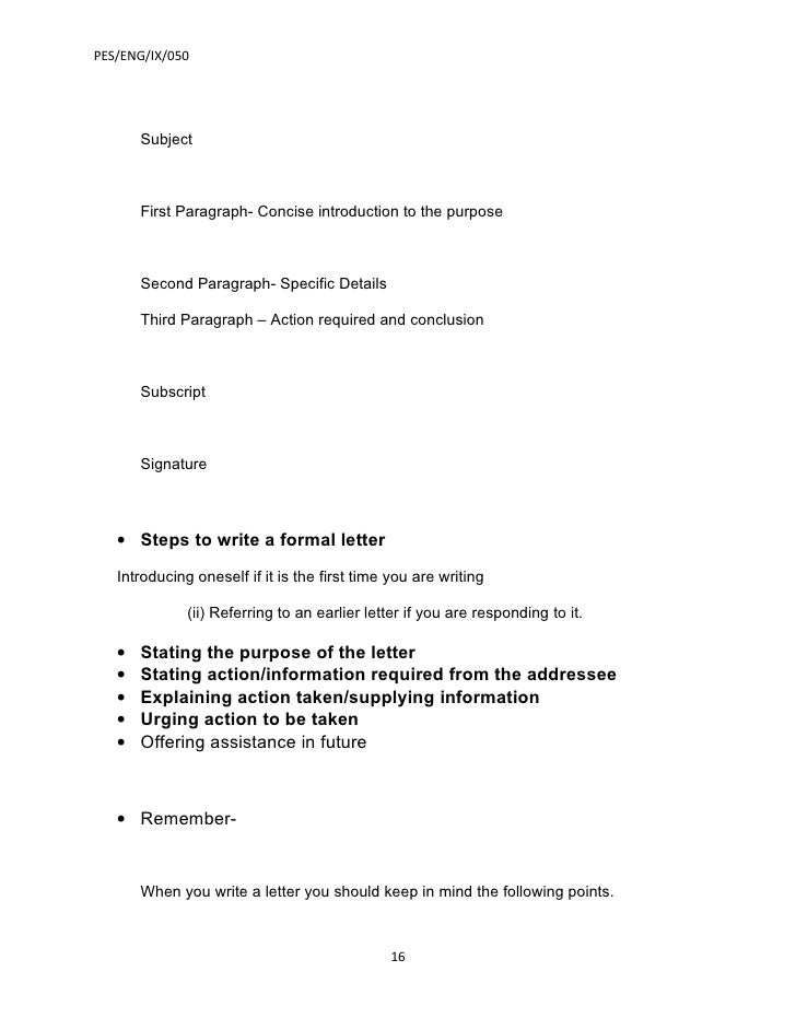 Introduction to formal letter selol ink introduction to formal letter altavistaventures Choice Image