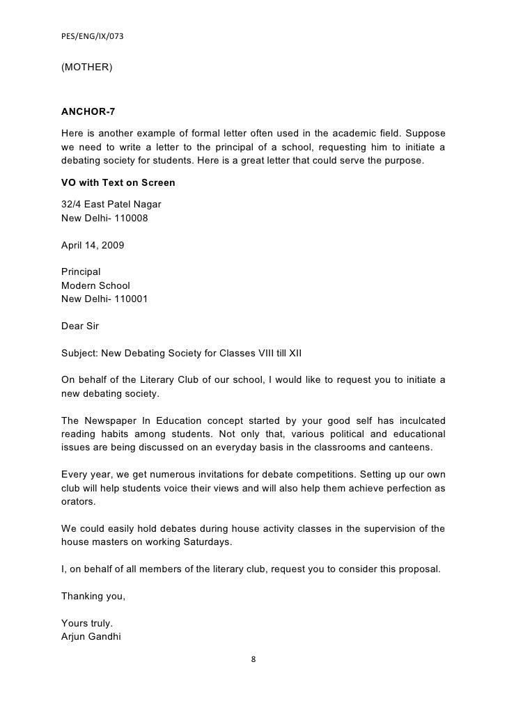 ... Formal Letter For School Leave Application Sample Of A College Leave  Letter With A How   How To Write An Leave Application