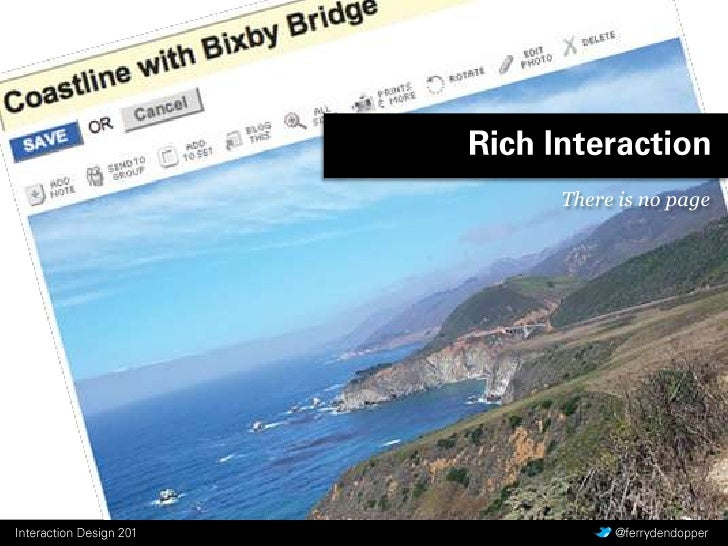 Rich Interaction<br />There is no page<br />