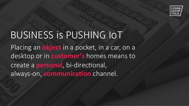 Placing an object in a pocket, in a car, on a  desktop or in customer's homes means to  create a perso...