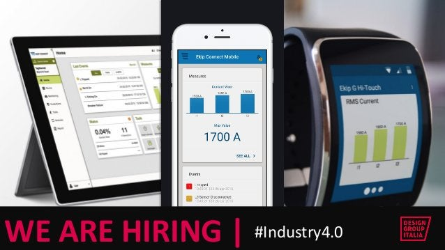 © DESIGN GROUP ITALIA  © DESIGN GROUP ITALIA  WE ARE HIRING   #Industry4.0