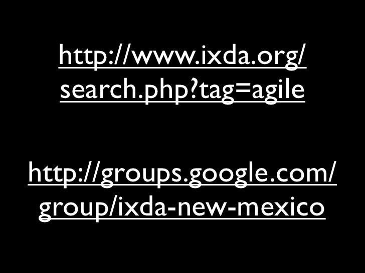 Ixd Agile
