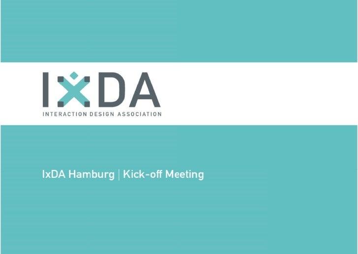 IxDA Hamburg Kick-off 2010-07-12