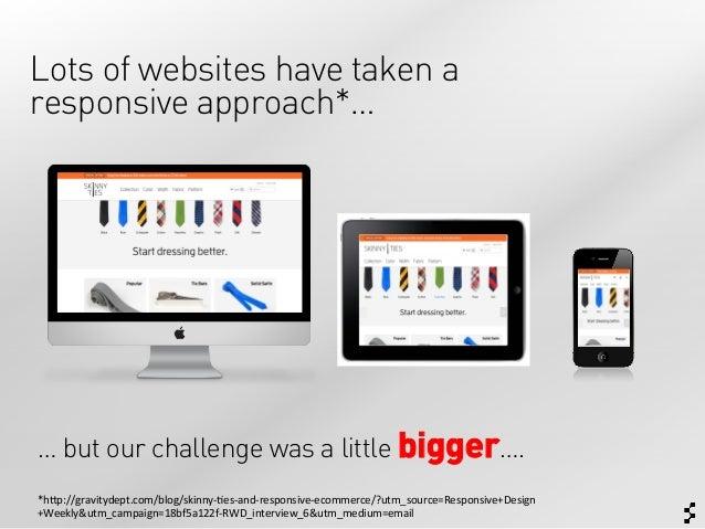 Responsive Design for Complex Websites (IXDA Munich) Slide 2