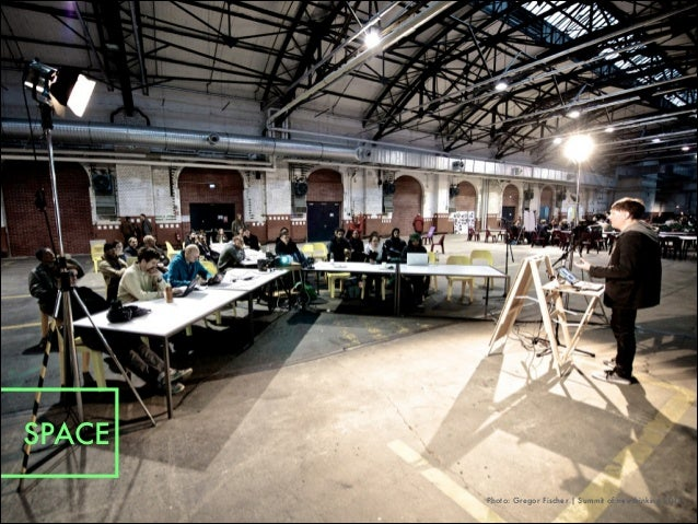 Photo: Gregor Fischer   Summit of newthinking 2012 SPACE