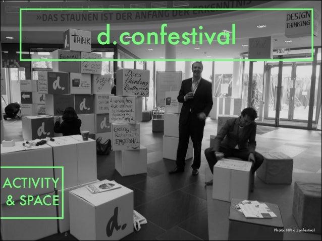 Photo: HPI d.confestival d.confestival ACTIVITY & SPACE