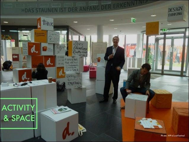 Photo: HPI d.confestival ACTIVITY & SPACE