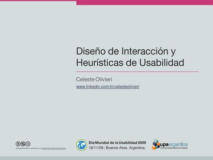 www.linkedin.com/in/celesteolivieri     Esta presentación está bajo una licencia de Creative Commons