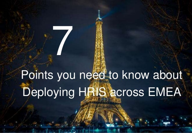 7 things you need to know about deploying Employee Central in EMEA Slide 2