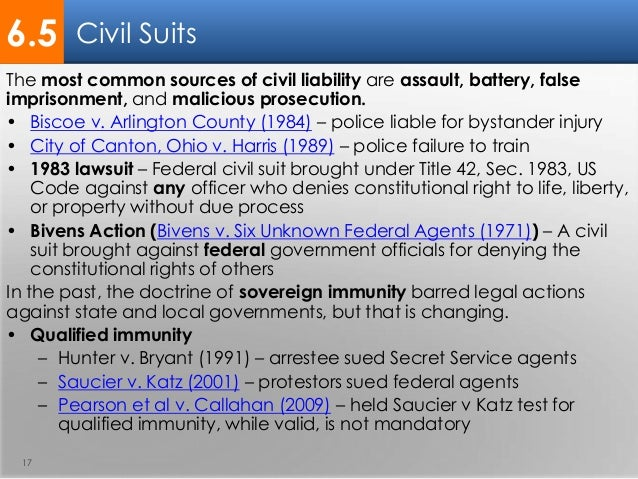 civil liability A civil liability refers to the legal requirement to compensate another party for causing them some form of bodily injury or property damage it differs from criminal liability therefore, civil liabilities do not subject the at-fault party to criminal punishment.