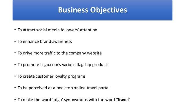 Presentation from the case study of ixigo com which was made