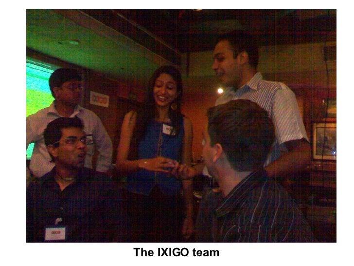 The IXIGO team