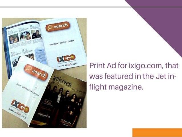 Digital Marketing Strategy for Ixigo by Shefali Shetty and
