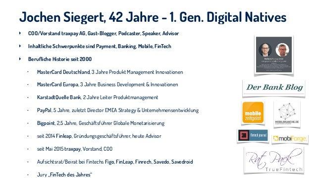 Payment der Zukunft vor dem Hintergrund von Mobile & Compliance Slide 3