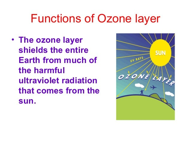 Depletion of Ozone layer • The main cause of this is the release of CFCs, chlorofluorocarbons.