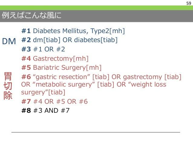 他の細かいルール:キーワード検索のために 60 http://www.lib.med.kyoto-u.ac.jp/pdf/pubmed_howto.pdf