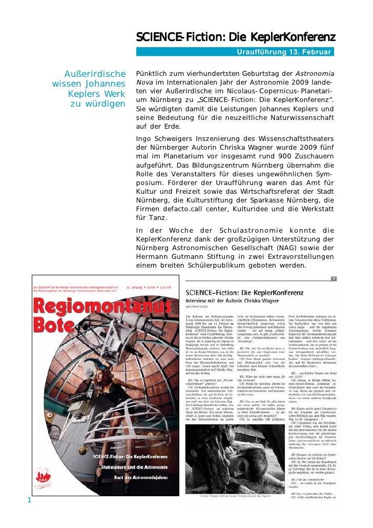 SCIENCE-Fiction: Die KeplerKonferenz                       SCIENCE-Fiction:                             E-Fiction         ...