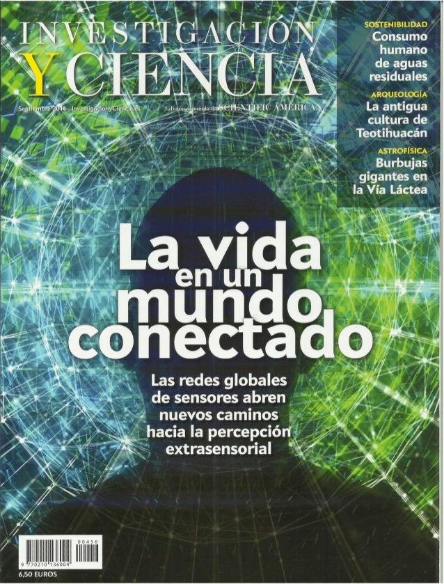 Investigación y ciencia septiembre 2014