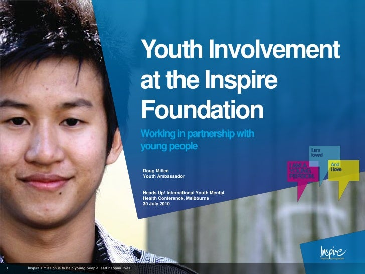 Youth Involvement                                                                   at the Inspire                        ...