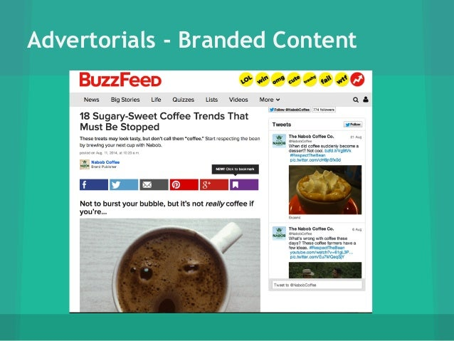 Examples Of Native Advertising