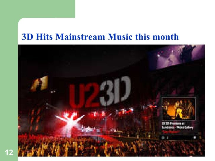 3D Hits Mainstream Music this month