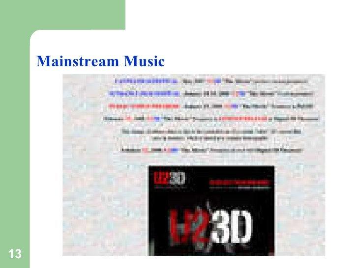 Mainstream Music