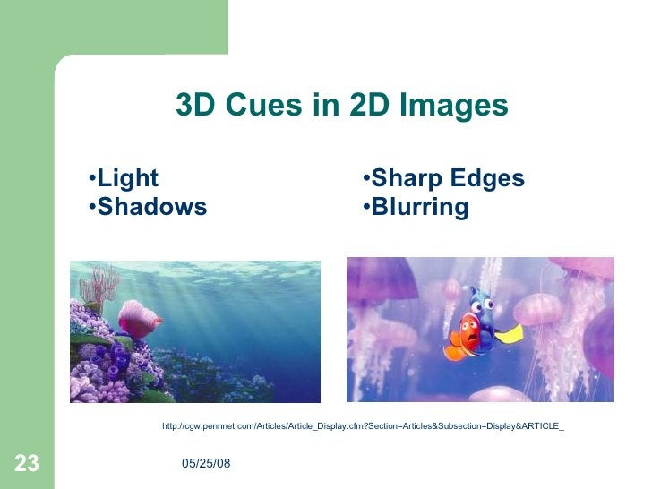http://cgw.pennnet.com/Articles/Article_Display.cfm?Section=Articles&Subsection=Display&ARTICLE_ 3D Cues in 2D Images <ul>...