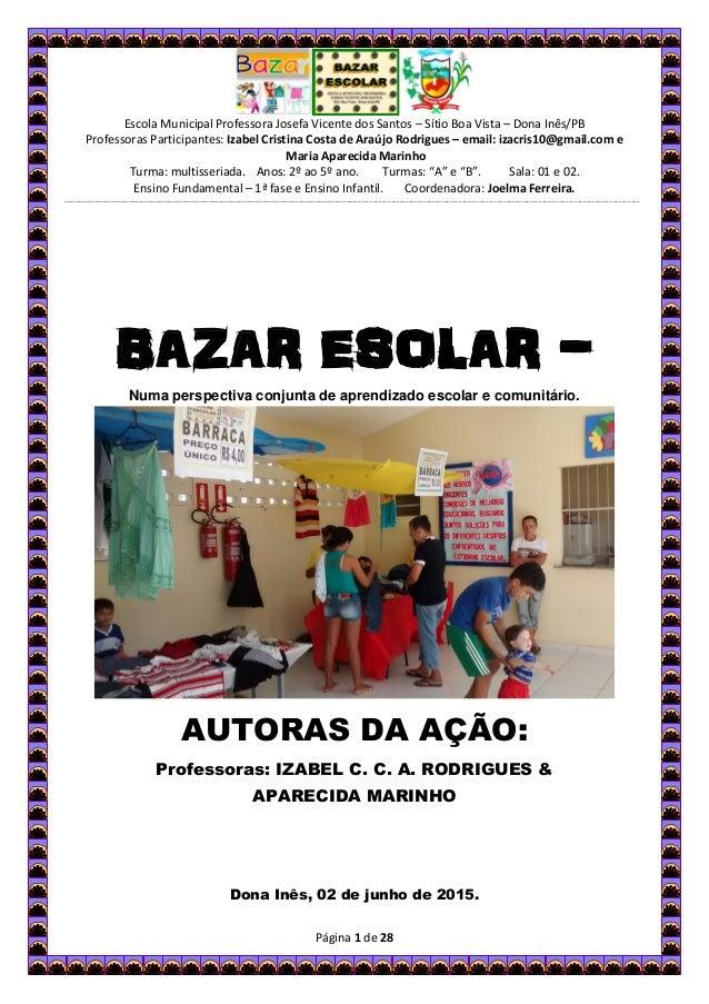 ed30528b87 Escola Municipal Professora Josefa Vicente dos Santos – Sítio Boa Vista –  Dona Inês PB ...