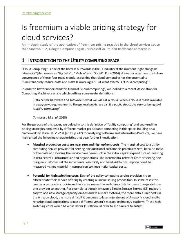 freemium pricing strategy