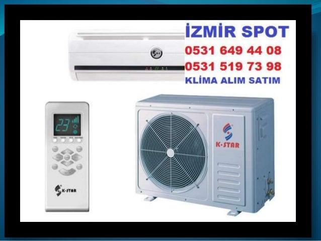 İzmir Bayraklı ikinci el klima alınır satılır, İzmir Bayraklı İkinci El duvar tipi klima Alanlar,