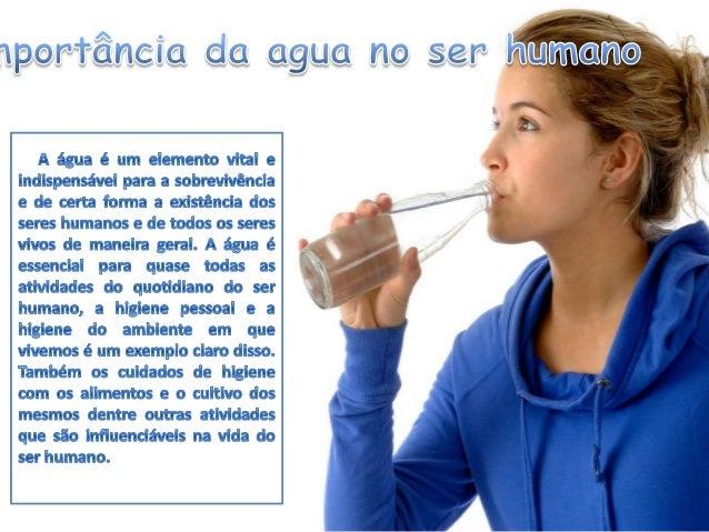 Importância/Escassez de água Slide 3