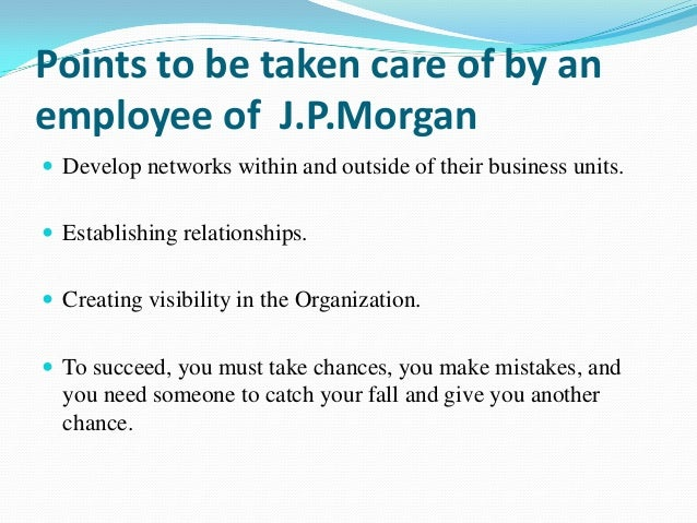 jp morgan chase business case Jpmorgan chase & co is a leading global financial services firm and one of the largest banking institutions in the united states , with operations worldwide.