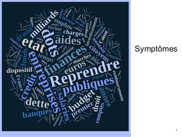 A.L CdC 23/05/12  ©2012 JMTN  Symptômes  09/12/14 Pour une France qui s'aime™ V4.3 © 2012 J.M. Truong 1