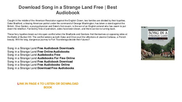 Song in a Strange Land Audiobooks For Free Download Mp3