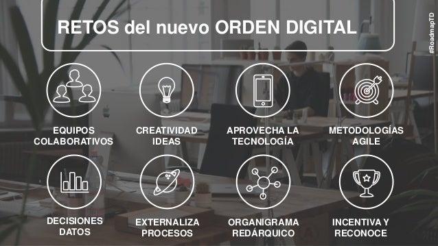 EQUIPOS COLABORATIVOS RETOS del nuevo ORDEN DIGITAL CREATIVIDAD IDEAS APROVECHA LA TECNOLOGÍA METODOLOGÍAS AGILE DECISIONE...