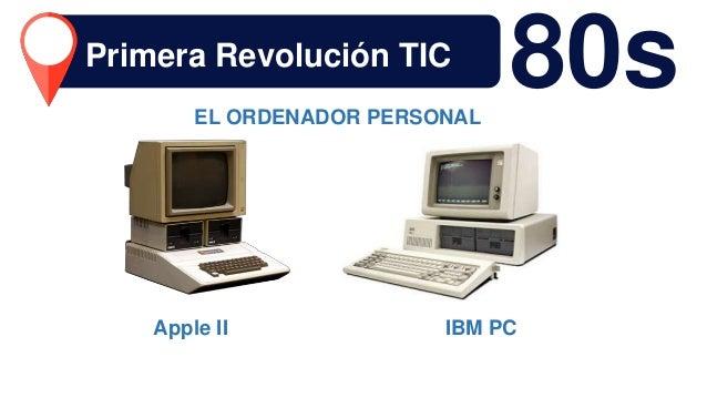 Apple II IBM PC 80sEL ORDENADOR PERSONAL Primera Revolución TIC