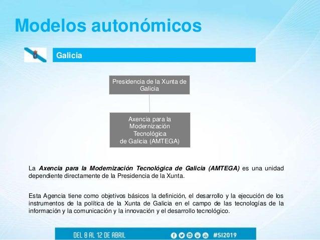 Galicia Modelos autonómicos Axencia para la Modernización Tecnológica de Galicia (AMTEGA) Presidencia de la Xunta de Galic...