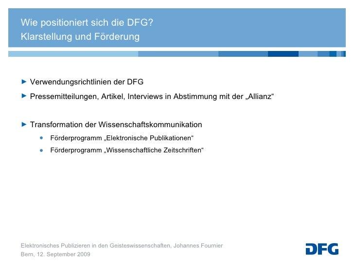 """<ul><li>Verwendungsrichtlinien der DFG  </li></ul><ul><li>Pressemitteilungen, Artikel, Interviews in Abstimmung mit der """"A..."""