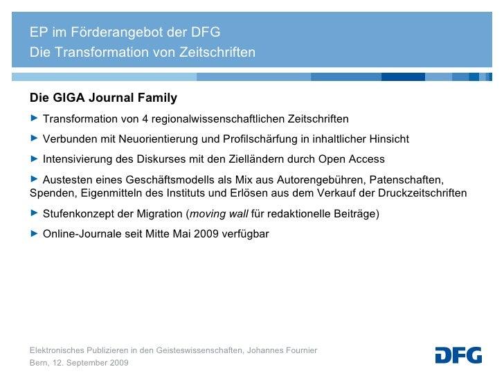 <ul><li>Die GIGA Journal Family </li></ul><ul><li>Transformation von 4 regionalwissenschaftlichen Zeitschriften  </li></ul...