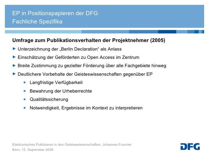 """<ul><li>Umfrage zum Publikationsverhalten der Projektnehmer (2005) </li></ul><ul><li>Unterzeichnung der """"Berlin Declaratio..."""