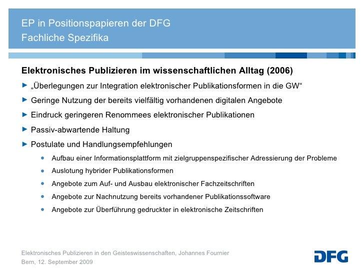 """<ul><li>Elektronisches Publizieren im wissenschaftlichen Alltag (2006) </li></ul><ul><li>"""" Überlegungen zur Integration el..."""