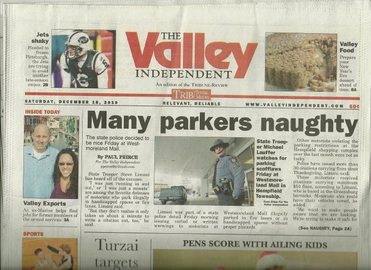 I was featured in my local newspaper!