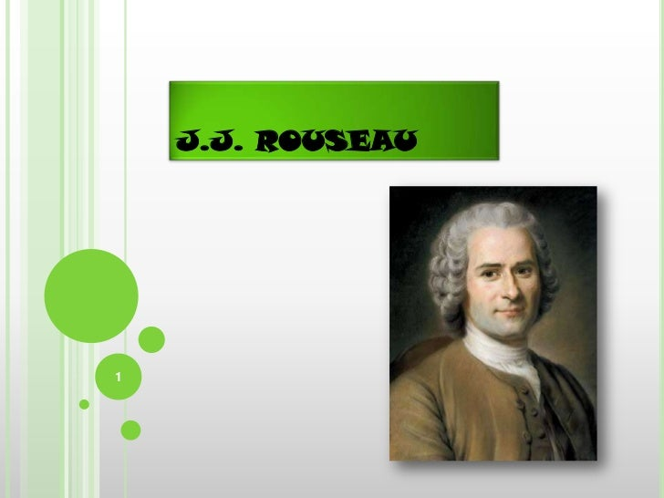 J.J. ROUSEAU1