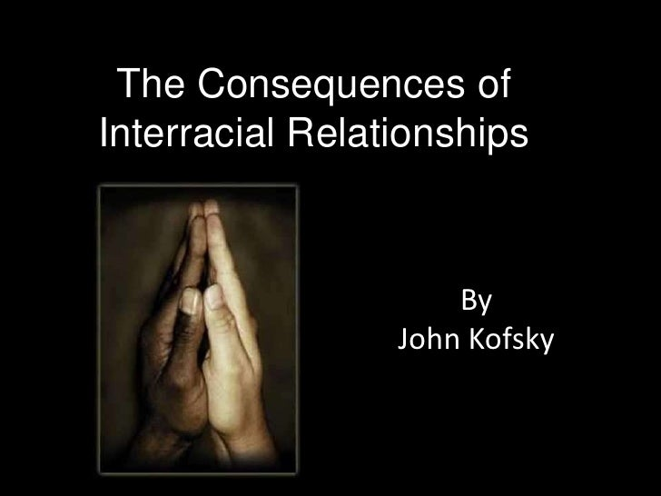 The history of interracial relationship