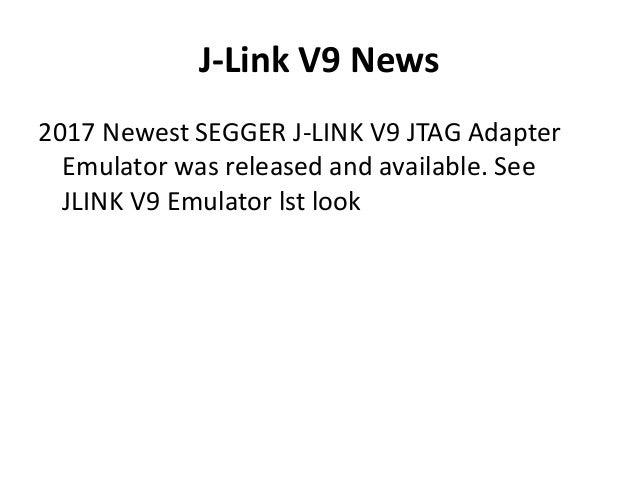 J-Link JLink V9 vs JLINK V8