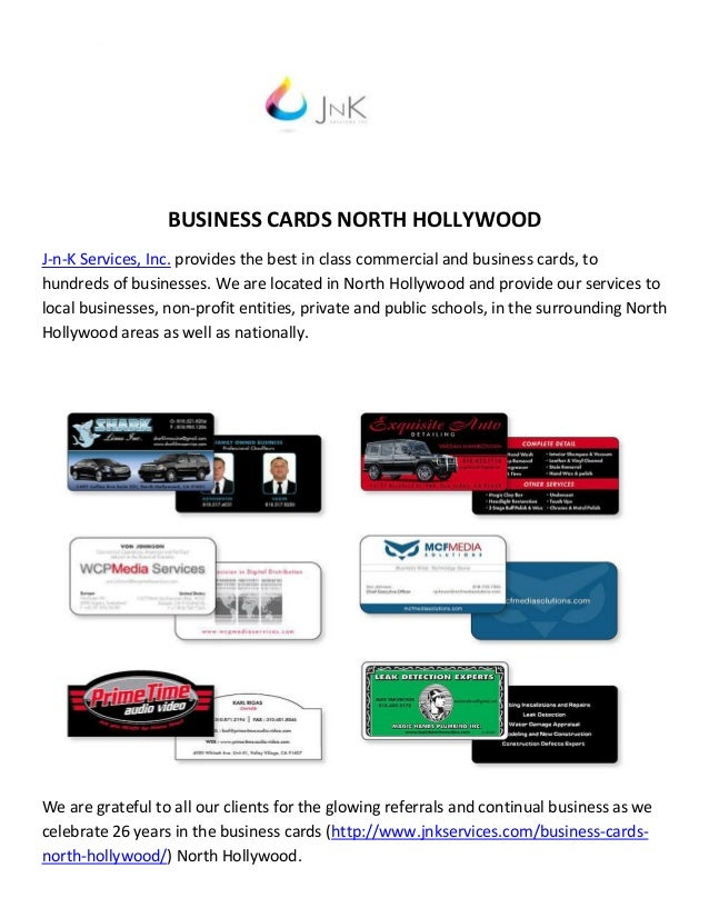 J n k services inc business cards north hollywood business cards north hollywood j n k services inc provides the best in class commercial and colourmoves